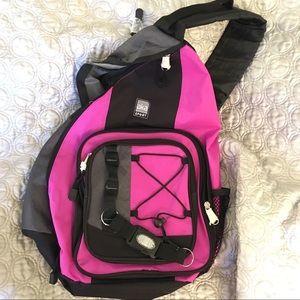Other - NWT - Side Messenger Backpack